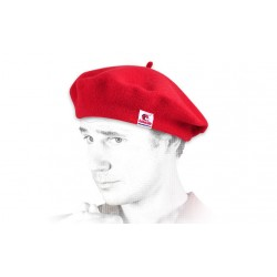 Béret basque (respirant) rouge Homme