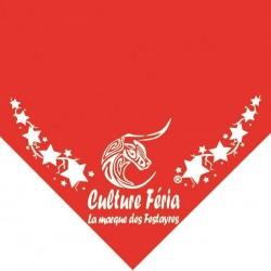 Foulard feria étoile rouge