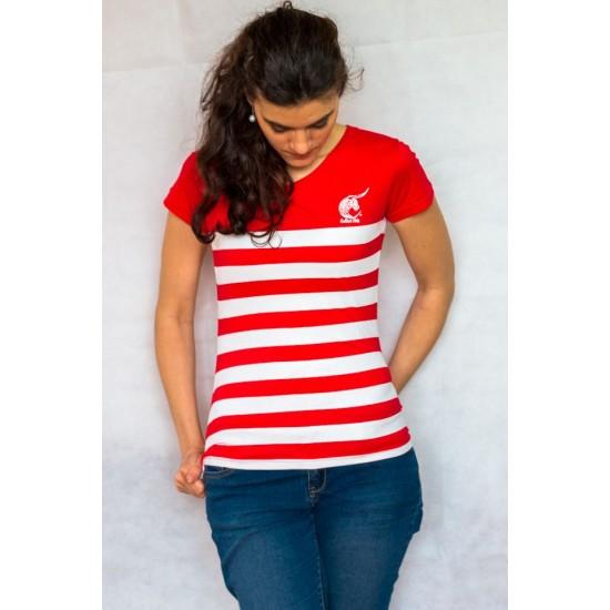 Marinière féria femme- rouge