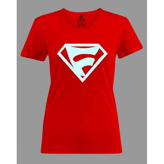 T-shirt Super festayre Femme ( Phosphorescent)