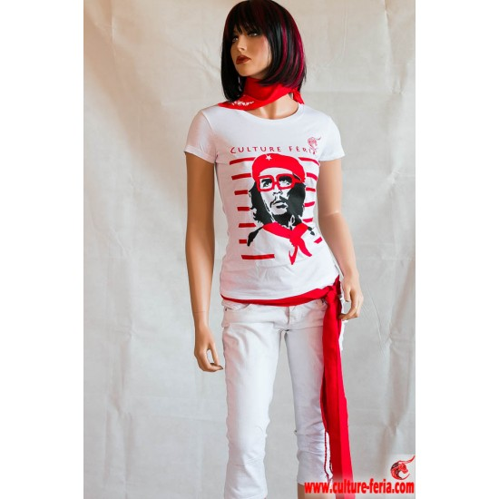 Tee-shirt Che Guevara femme