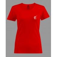 tee-shirt feria femme rouge