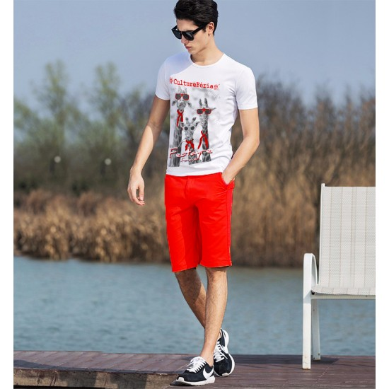 T-shirt des Trois girafes homme