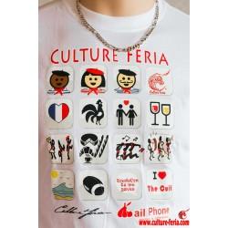 T-shirt I-féria homme- blanc