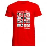 T-shirt I-féria homme- rouge