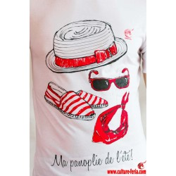 T-shirt Ma panoplie de l'été