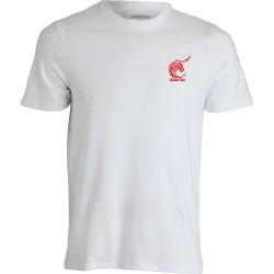 t-shirt feria blanc logo rouge