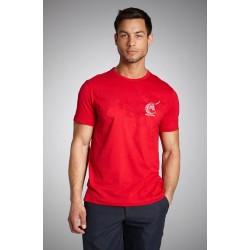 t-shirt feria rouge