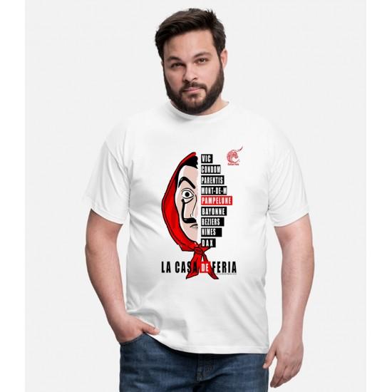T-shirt la casa de feria homme