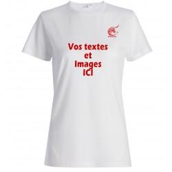 T-shirt personnalisé femme